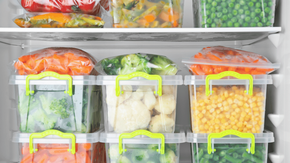 Buying and storing fresh vegetables in your fridge