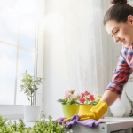 The therapeutic effect of cleaning and gardening