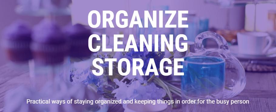 Organize header image