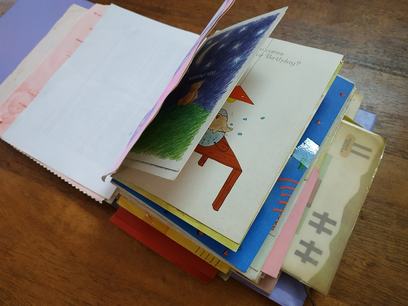 How to organize past greeting and birthday cards organize m4hsunfo