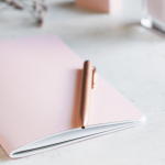 Organize your ideas in an idea book or a journal
