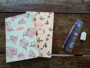 My thin notebooks to write everything in one place