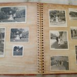 Old photos in photo albums