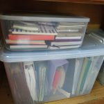Where to store and file your bills, letters, warranties and statements