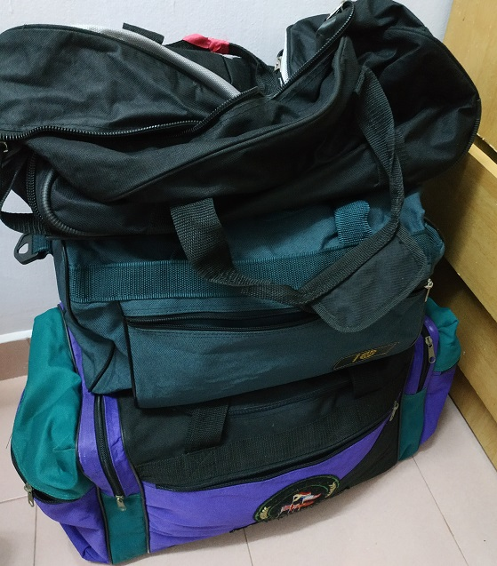 Travel bags- to keep or declutter