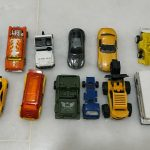 Storing toy cars