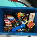Storing toys