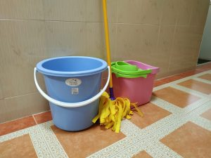 What I use to mop the floor