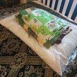 Store pillow case, bedsheet and pillow