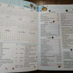 Monthly planner from Thailand