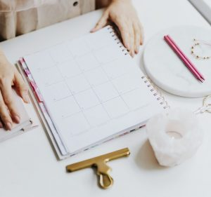 How to use a planner when you have nothing to write about