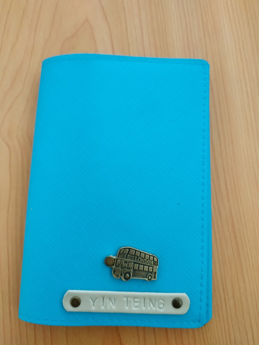 Reusing your passport cover